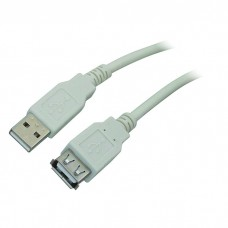 CABLE USB 2.0 EXTENSION 0.8M