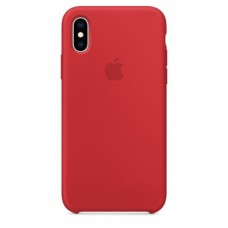 Apple iPhone XS Silicone Case - (PRODUCT) RED