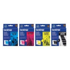 Black Ink Cartridge BROTHER (500 A4 pages at 5% coverage), DCP330C, DCP540CN, MF..