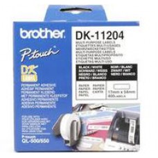 Multi Purpose Label BROTHER 17mm x 54mm x 400 for P-Touch