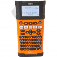 P-Touch BROTHER Labelling system PTE300VP, Handheld, QWERTY keyboard, TZe tapes ..