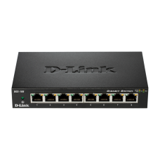 8-Port Gigabit Ethernet Metal Housing Unmanaged Switch