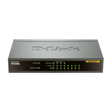 8-port 10/100 Desktop Switch with 4 PoE Ports