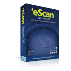 eScan Corporate 360 10-19 users / 1 year (price for 1 license)
