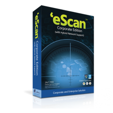 eScan Corporate Edition 101-250 users / 1 year (price for 1 license)