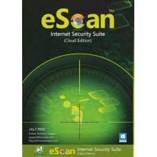 eScan Internet Security Suite with Cloud Security 3 user/1 year