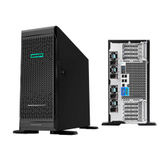 HPE ML350 G10 4U Tower, Xeon-S 4110 (10-Core, 2.2 GHz, 85W), 16 GB RDIMM SR 2666..