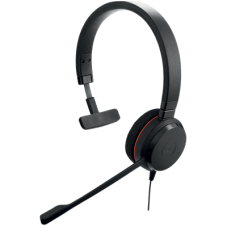 Слушалки с микрофон Jabra EVOLVE 20 MS Mono, Noise Cancelling, Microphone, USB