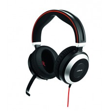 Слушалки с микрофон Jabra EVOLVE 80 MS Duo, Noise Cancelling, Microphone, 3,5 mm..