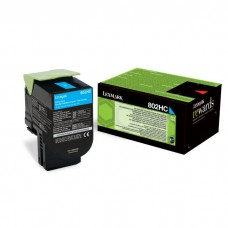 Cyan High Yield Toner Cartridge,3,000 pages,CX410/ CX510, Return Programme