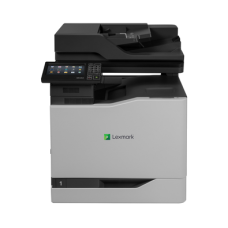 Color Laser Multifunctional Lexmark  CX827de 4in1; Duplex; A4; 1200 x 1200 dpi; 4800 CQ; 50 ppm; 2048 MB; HDD, DADF; capacity: 650 sheets; USB 2.0; Gigabit Ethernet (10/100/1000);  7'' colour touch screen, 200 000 pages/month