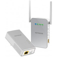 Адаптер Netgear POWERLINE 1000 + WiFi AC650, 1 Gigabit Port, комплект от 2 броя