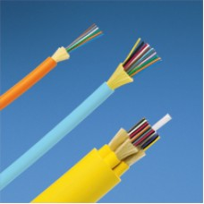12-fibre 10Gig™ 50/125μm (OM3) multimode LSZH rated distribution cable.
