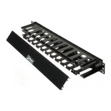"19"" 1U PatchLink™ Horizontal Cable Manager, front duct 38 x 94mm"