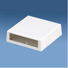 4 Module Space Surface Mount Box