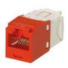 Cat 6 UTP Mini-Com® TX6™ PLUS Jack Module red