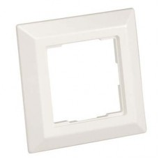 German faceplate 80 x 80mm. For use with NKAGS2AW arctic white.