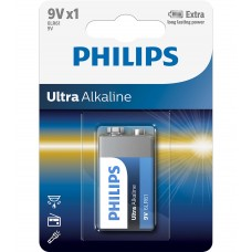 Philips Ultra Alkaline батерия 9V, 1-blister
