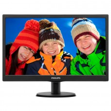 "Philips 20"" Slim LED 1600x900 HD 16:9 5ms 10 000 000:1 VGA, VESA, Piano bla.."