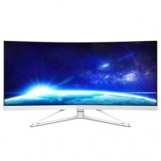 "Philips 34"" Ultrawide WQHD (3440 x 1440) Curved monitor, 4ms, 300 cd/m2, 2 .."