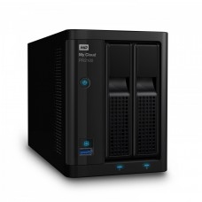 HDD 0TB LAN 1000Mbps NAS MyCloud PR2100 2-bay 2xGigabit + 2xUSB 3.0 (up to 28TB)
