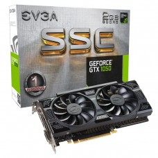 Видео карта EVGA GeForce GTX 1050 SSC GAMING 02G-P4-6154-KR, 2GB, GDDR5, 128 bit..