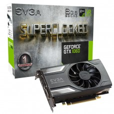 Видео карта EVGA GeForce GTX 1060 SC GAMING 06G-P4-6163-KR, 6GB, GDDR5, 192 bit,..