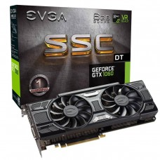 Видео карта EVGA GeForce GTX 1060 SSC DT GAMING 06G-P4-6265-KR, 6GB GDDR5 192 bi..