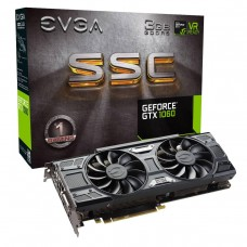 Видео карта EVGA GeForce GTX 1060 SSC GAMING, 03G-P4-6167-KR, 3GB GDDR5, ACX 3.0..
