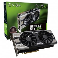 Видео карта EVGA GeForce GTX 1070 Ti FTW ULTRA SILENT GAMING ACX 3.0 8GB GDDR5 2..