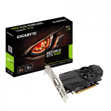 Видео карта GIGABYTE GeForce GTX 1050 OC Low Profile 2GB GDDR5 128 bit, DVI-D, D..