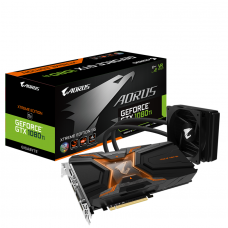 Видео карта Gigabyte AORUS GeForce® GTX 1080 Ti Waterforce Xtreme Edition 11G, 1..
